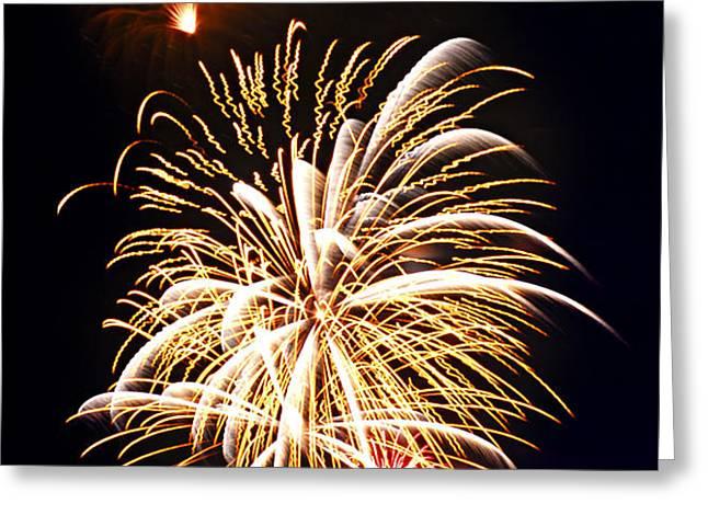 Fireworks Greeting Card by Elena Elisseeva