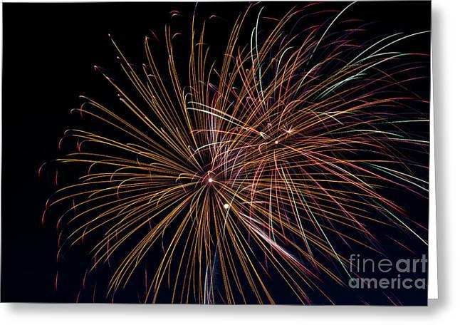 Fireworks Greeting Card by Jason Meyer