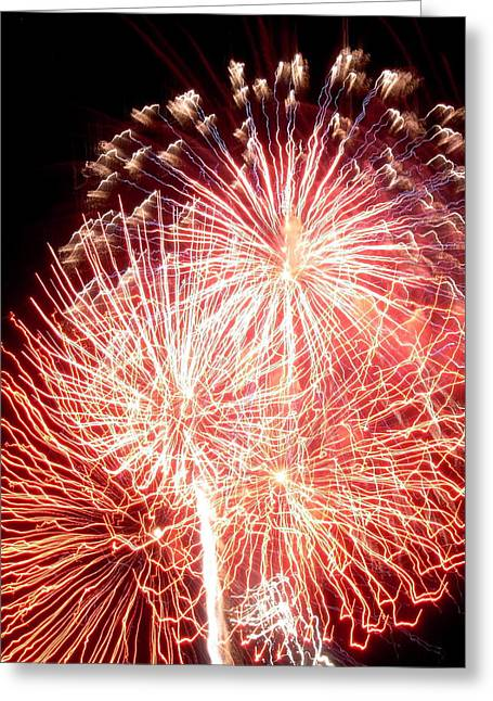 Fireworks Greeting Card by Joseph Norniella