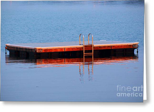 Swim Ladder Greeting Cards - First Day Of School Greeting Card by Joe Geraci
