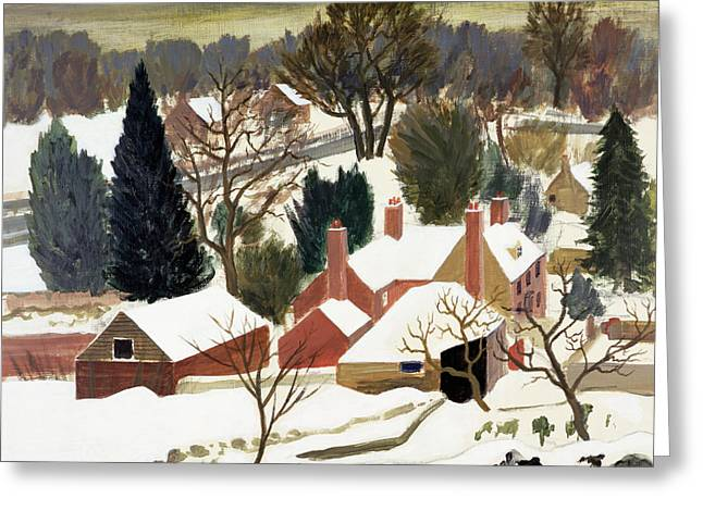 Gloomy Winter Greeting Cards - First Fall Greeting Card by Eric Hains