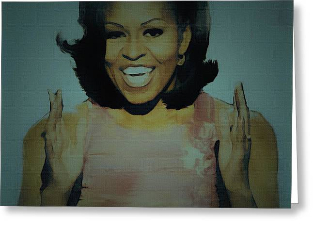 First Lady Greeting Card by BRIAN REAVES