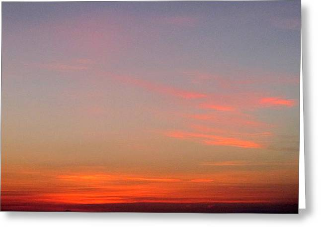 First Sunset Greeting Cards - First Light 3 Greeting Card by Randall Weidner