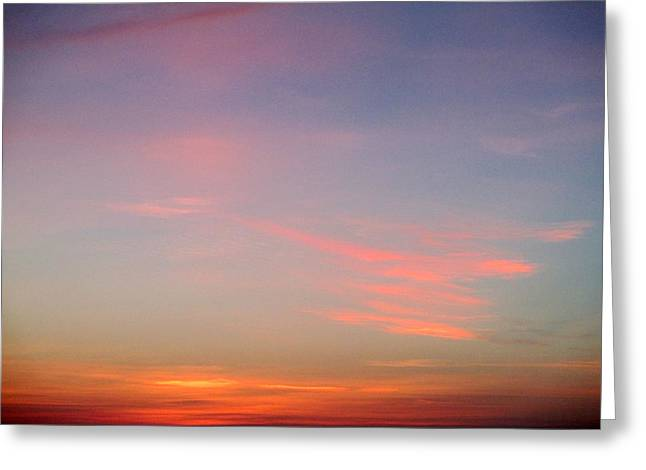 First Sunset Greeting Cards - First Light 4 Greeting Card by Randall Weidner