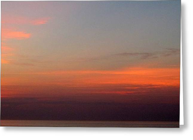First Sunset Greeting Cards - First Light 5 Greeting Card by Randall Weidner