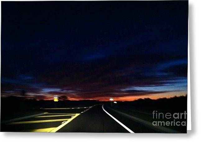 Paradise Road Greeting Cards - First Light Greeting Card by Melissa Darnell Glowacki