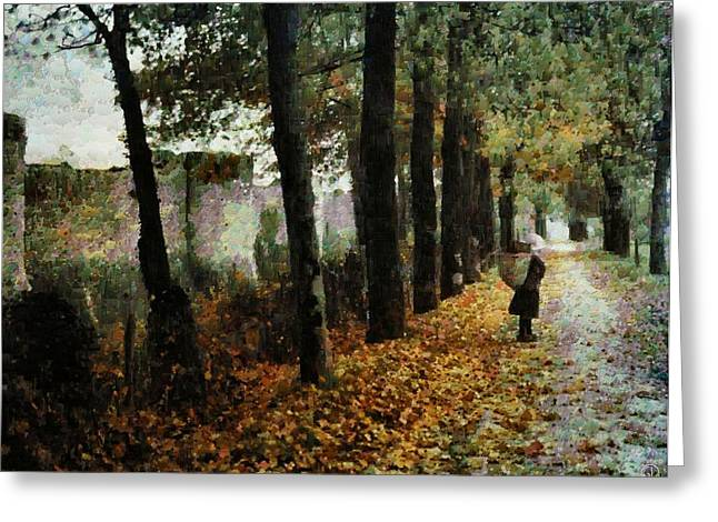 First signs of autumn Greeting Card by Gun Legler