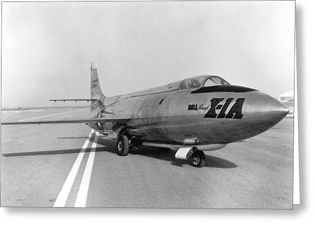First Supersonic Aircraft, Bell X-1 Greeting Card by Science Source