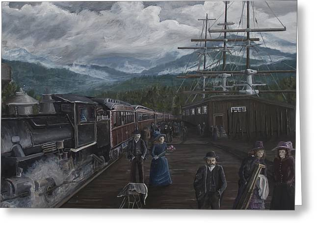 Canadian Heritage Paintings Greeting Cards - Sundays Best Greeting Card by Stefan Kaertner