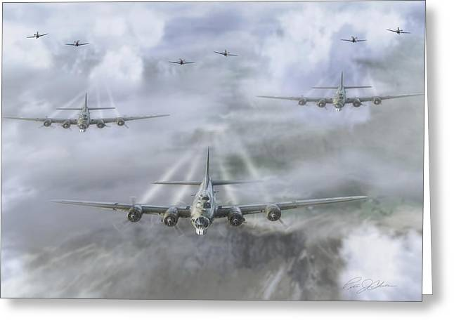 Historic England Greeting Cards - First Wave Greeting Card by Peter Chilelli