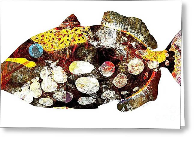 Fish 504-11-13 Marucii Greeting Card by Marek Lutek
