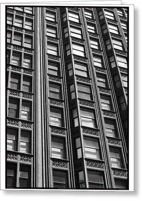 Fisher Building - 07.25.09_078 Greeting Card by Paul Hasara
