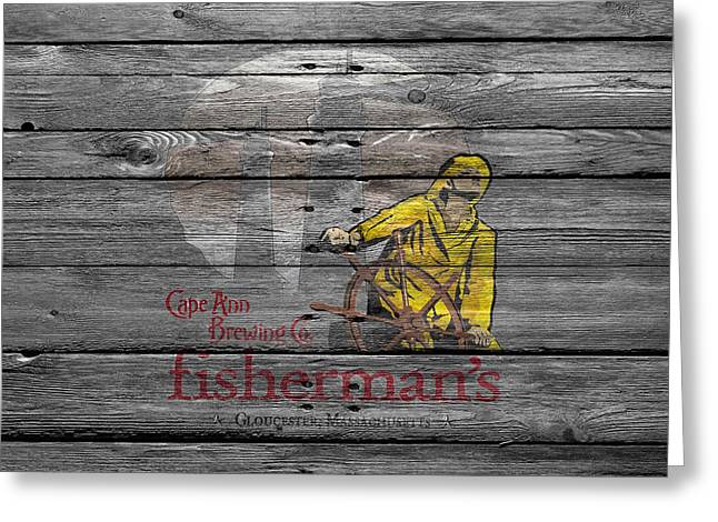 Saloons Greeting Cards - Fishermans Greeting Card by Joe Hamilton