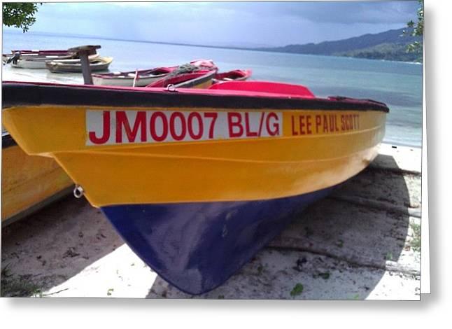 Plight Greeting Cards - Fishermans Plight Greeting Card by Joseph Dunn