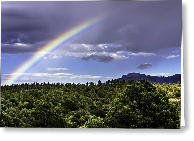 Trinidad Colorado Greeting Cards - Fishers Rainbow Greeting Card by Brent Touchstone