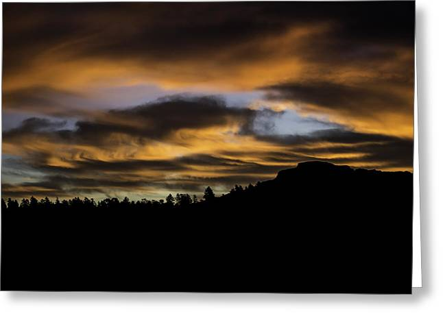 Ladnscape Greeting Cards - Fishers Sunrise Greeting Card by Brent Touchstone