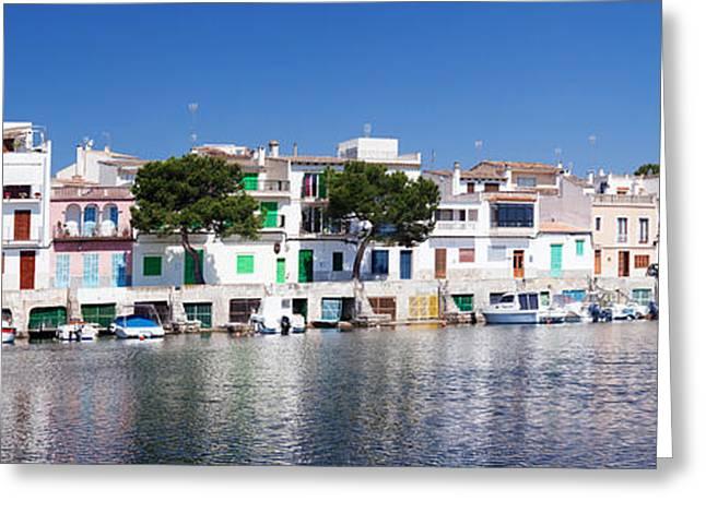 Fishing Boats Greeting Cards - Fishing Boats At Fishing Port, Porto Greeting Card by Panoramic Images