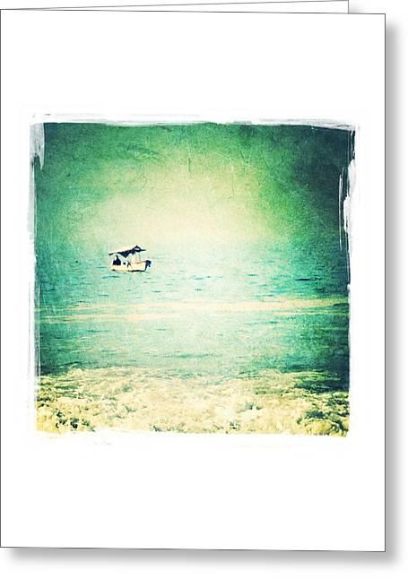 Puerto Vallarta Digital Greeting Cards - Fishing Greeting Card by Natasha Marco