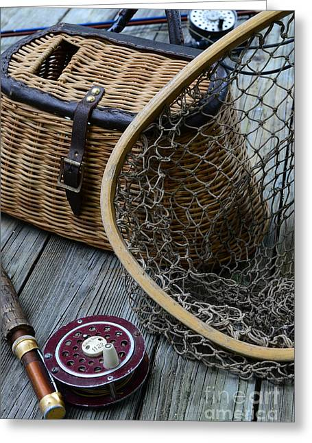 Trout Fishing Greeting Cards - Fishing - Trout Fishing Greeting Card by Paul Ward