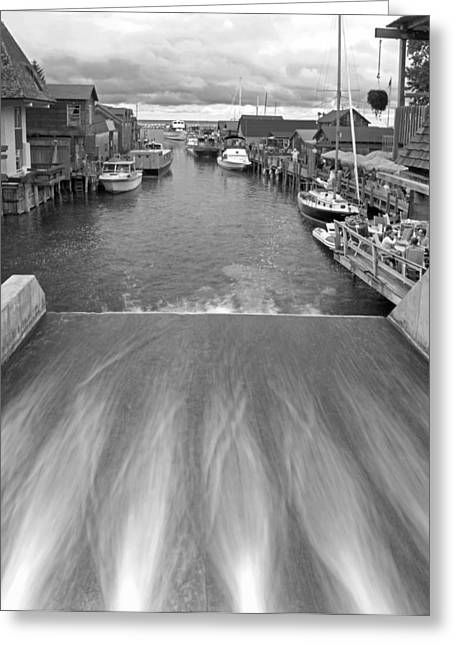 Leland Greeting Cards - Fishtown at Leland Greeting Card by Twenty Two North Photography