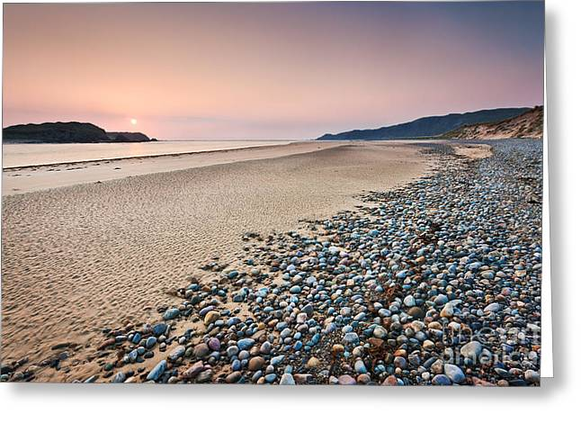 Estuary Greeting Cards - Five Finger Strand - Donegal - Ireland Greeting Card by Rod McLean