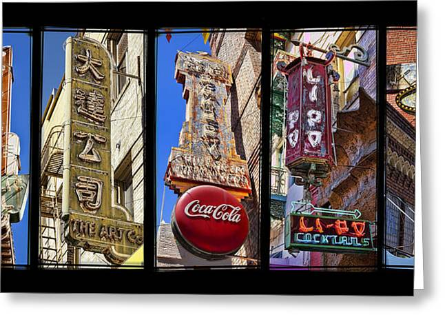 Five Signs Greeting Card by Kelley King