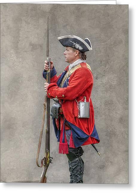 Fix Bayonets Greeting Card by Randy Steele