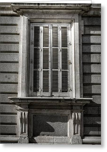 Urban Images Greeting Cards - Fixer Upper Greeting Card by Joan Carroll