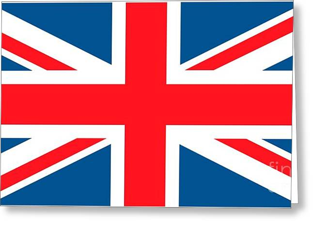 Identity Greeting Cards - Flag of the United Kingdom Greeting Card by Anonymous