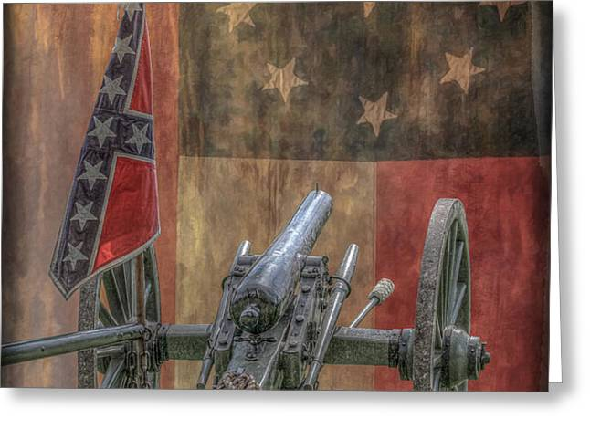 Flags of the Confederacy Greeting Card by Randy Steele