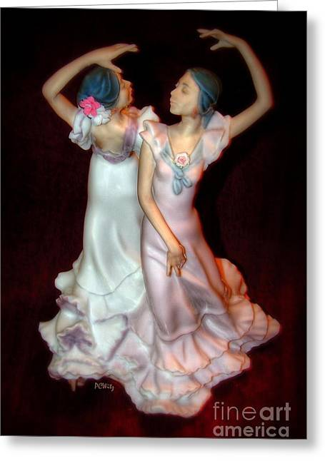 Empowerment Greeting Cards - Flamenco Greeting Card by Patrick Witz