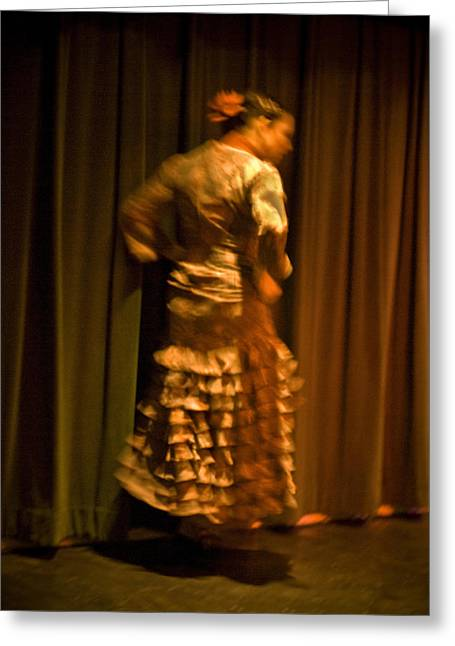 Duende Greeting Cards - Flamenco Series 14 Greeting Card by Catherine Sobredo