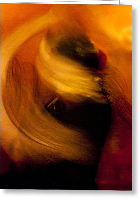 Duende Greeting Cards - Flamenco Series 16 Greeting Card by Catherine Sobredo