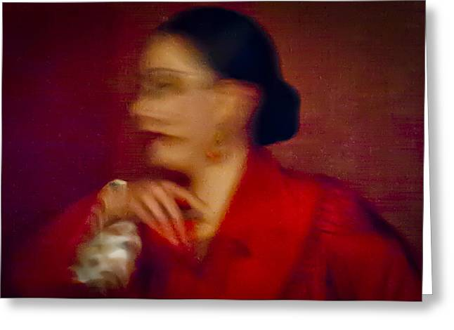 Duende Greeting Cards - Flamenco Series 4 Greeting Card by Catherine Sobredo