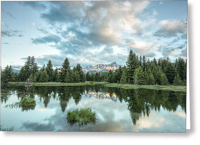 Horizontal Photographs Greeting Cards - Flash of Light Greeting Card by Jon Glaser