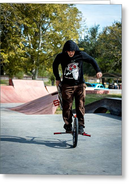 Freestyle Greeting Cards - Flatland Freestyle Greeting Card by David Morefield