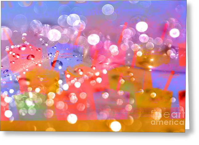 Lemon Art Greeting Cards - Flavors to Chill Taste Buds Greeting Card by Beverly Guilliams