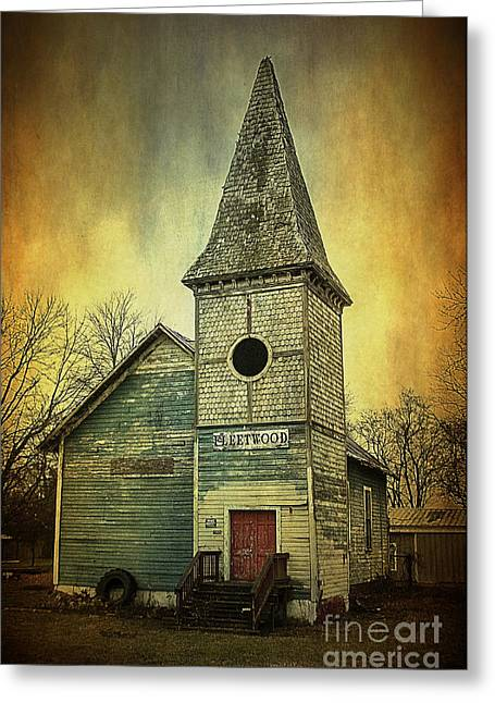 Fleetwood Church Greeting Card by Terry Rowe