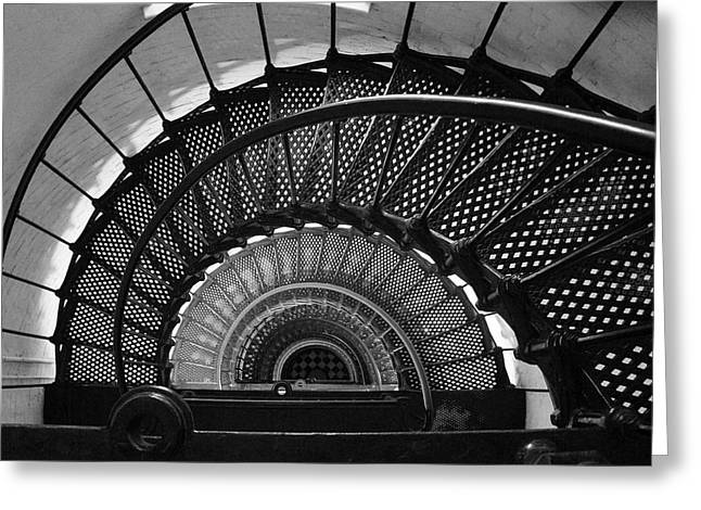 Flight Of Stairs Greeting Cards - Flight 12 Greeting Card by Brandon Addis