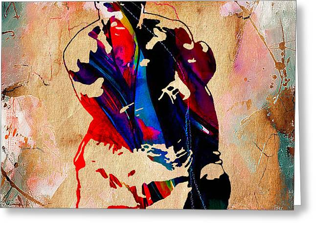 Boxing Greeting Cards - Float Like A Butterfly Sting Like A Bee Greeting Card by Marvin Blaine