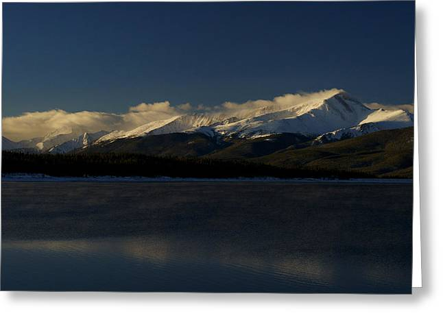 Jeremy Greeting Cards - Floating 14er Greeting Card by Jeremy Rhoades