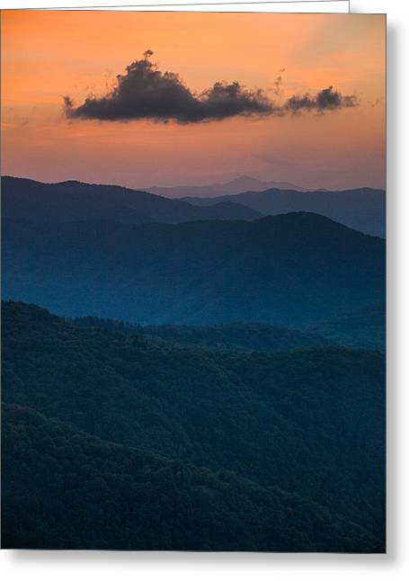 Layers Greeting Cards - Floating above Greeting Card by Davorin Mance
