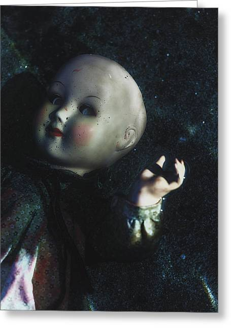 Floating Doll Greeting Card by Joana Kruse