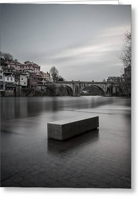 Stone House Greeting Cards - Flood Greeting Card by Antonio Jorge Nunes