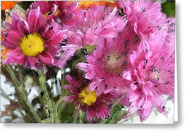 Herb Briley Greeting Cards - Flora 101 Greeting Card by Herb Briley
