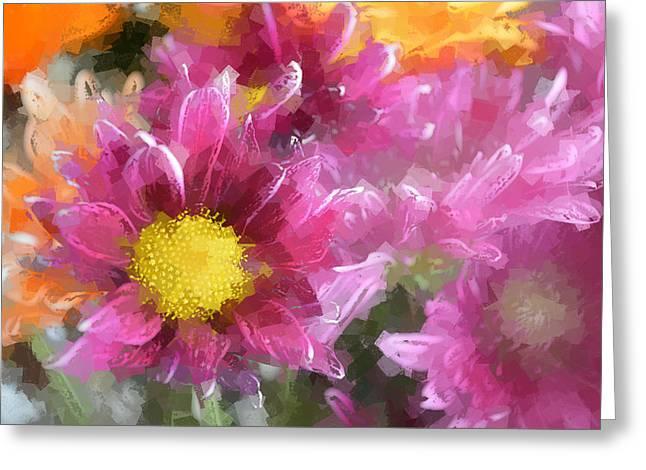 Herb Briley Greeting Cards - Flora 102 Greeting Card by Herb Briley