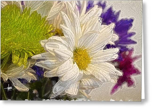 Herb Briley Greeting Cards - Flora 27 Greeting Card by Herb Briley