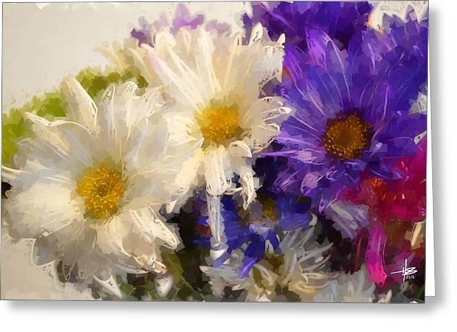 Herb Briley Greeting Cards - Flora 29 Greeting Card by Herb Briley