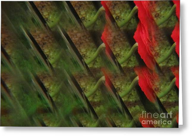 Blooms Greeting Cards - Floral Abstract 5 Greeting Card by Tara  Shalton