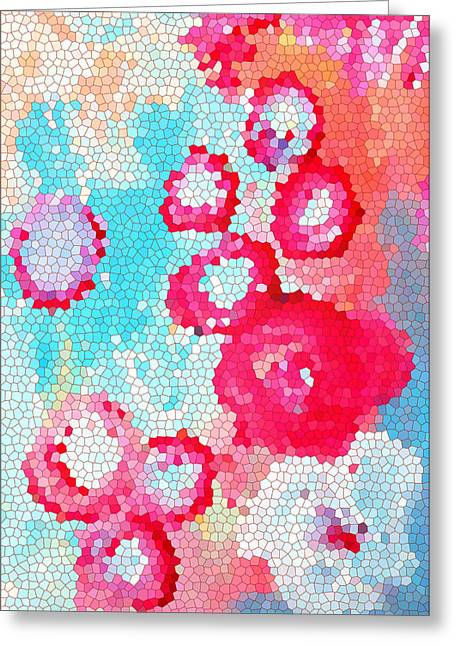 Floral IIi Greeting Card by Patricia Awapara